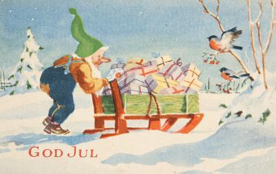 Julekort fra 2. verdenskrig (Foto/Photo)
