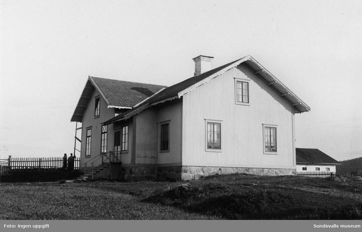 Skolan i Hillsta, Skön, 1911.