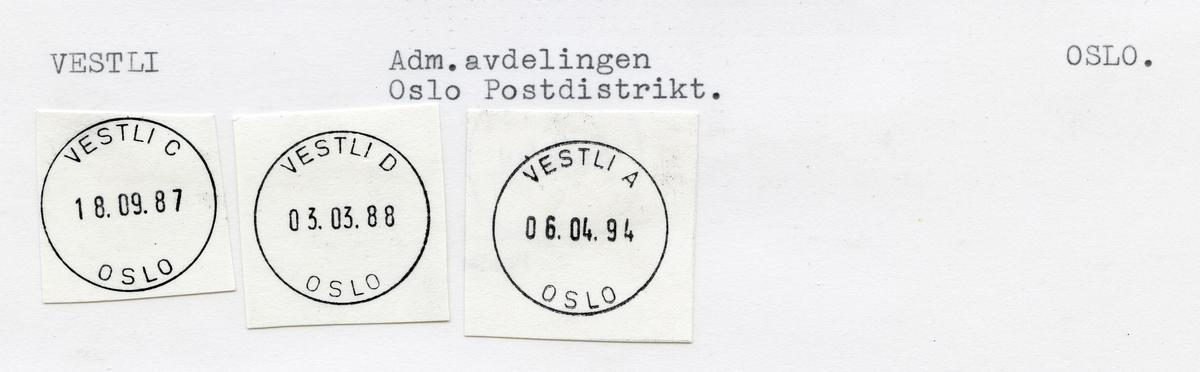 Vestli, Oslo