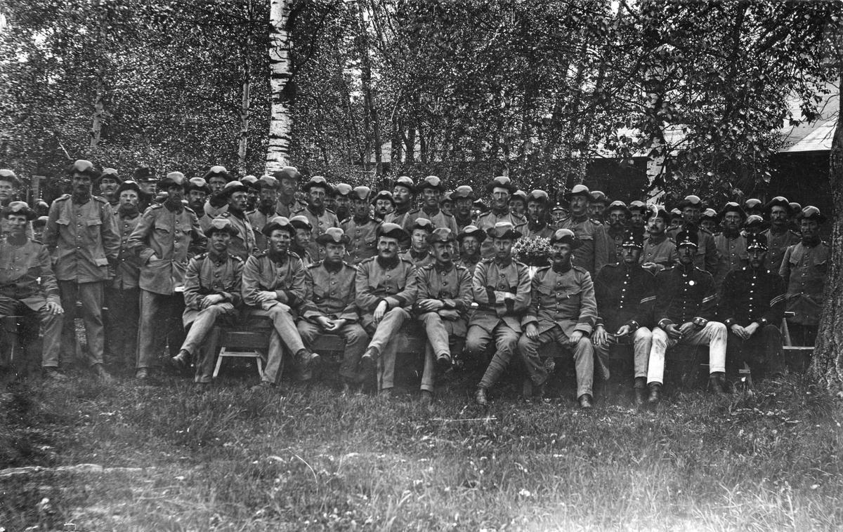 Rommehed 1915 Adjutantkurs.