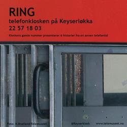 Informasjon om Keyserkiosk Telefonkiosk Einars vei Oslo som