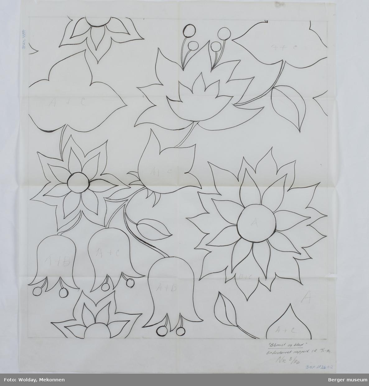 Blomster, blomster klokkeformet