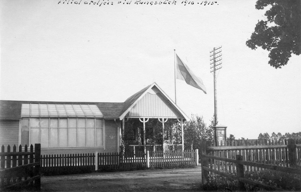 Gustaf Reimers filialateljén vid Kungsbäck 1910 - 1915