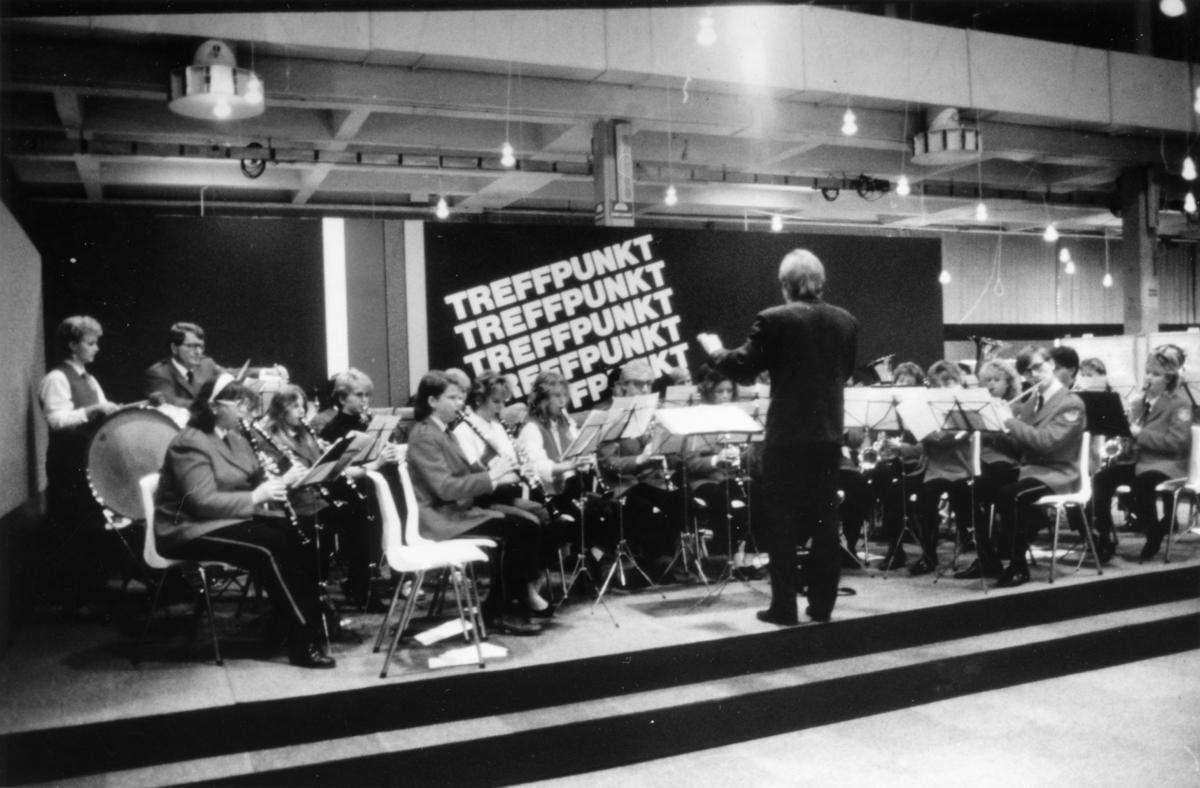 Nordisk Frimerkeutstilling i Oslo 1986. Orkester.