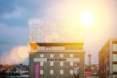 Rockheim-bygget, fra nord. Foto/Photo