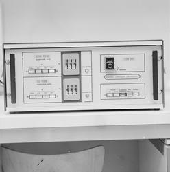 """""""Apparat"""", Fysiologiska institutionen, Uppsala, 1969"""