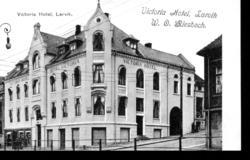 Hotell Victoria i Larvik, Storgata.