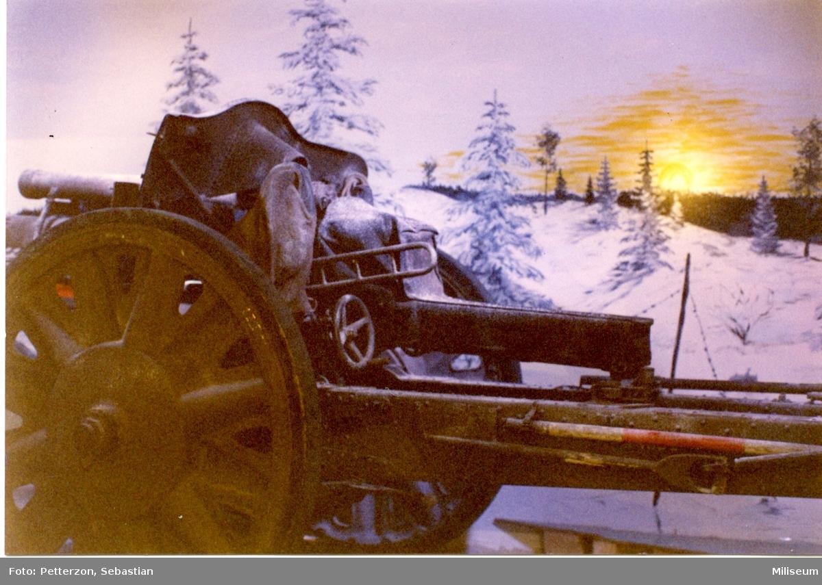 Försvarshistoriska muséet, Jkpg. Haubits m/1939. 10,5 cm.