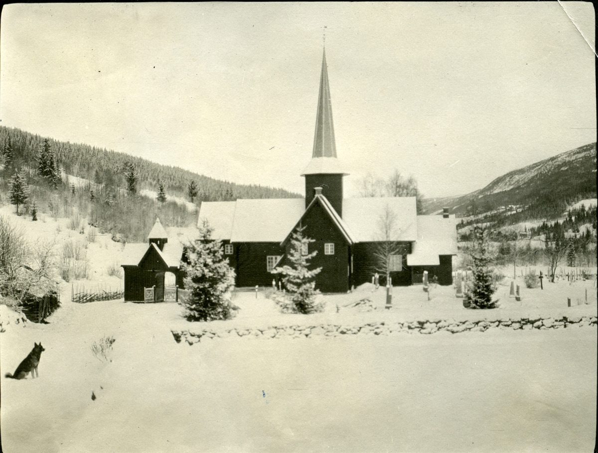 Bruflat kyrkje, Etnedal i Valdres.