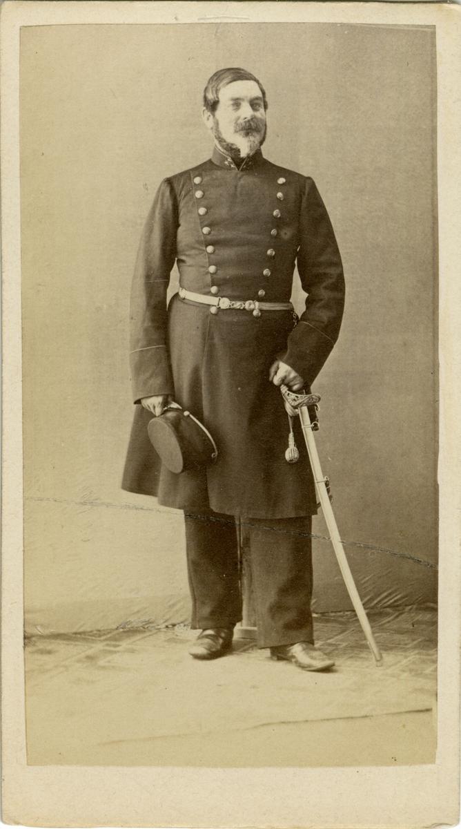 Porträtt av Wilhelm Mauritz von Post, kapten vid Södermanlands regemente I 10.