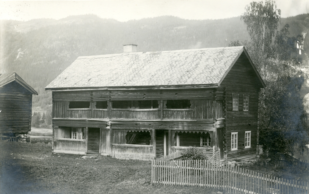 Våningshuset på Erstad i Bagn, Sør-Aurdal.