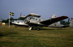 Flygplan TP 47 Catalina samt Siebel Si 204 med civilregistre