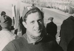 Petter Hugsted fra KIF under skirenn