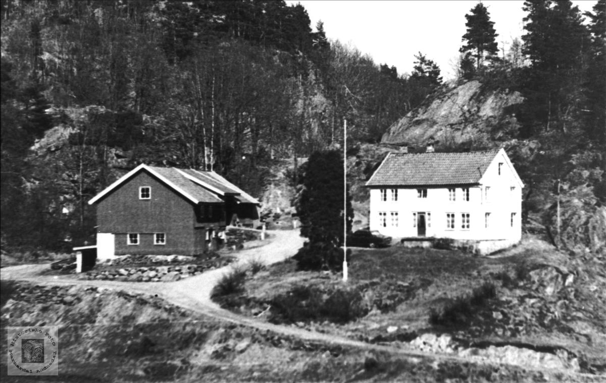 Kjær i Øyslebø senere Søgne kommune.