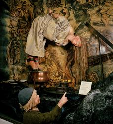 Bild från Nordiska museets utställning Traditioner. Processe
