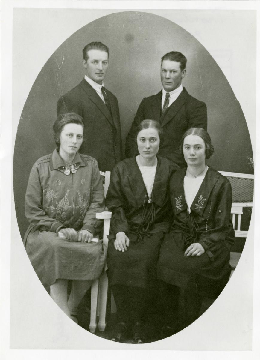 Familien Hellandshølen.