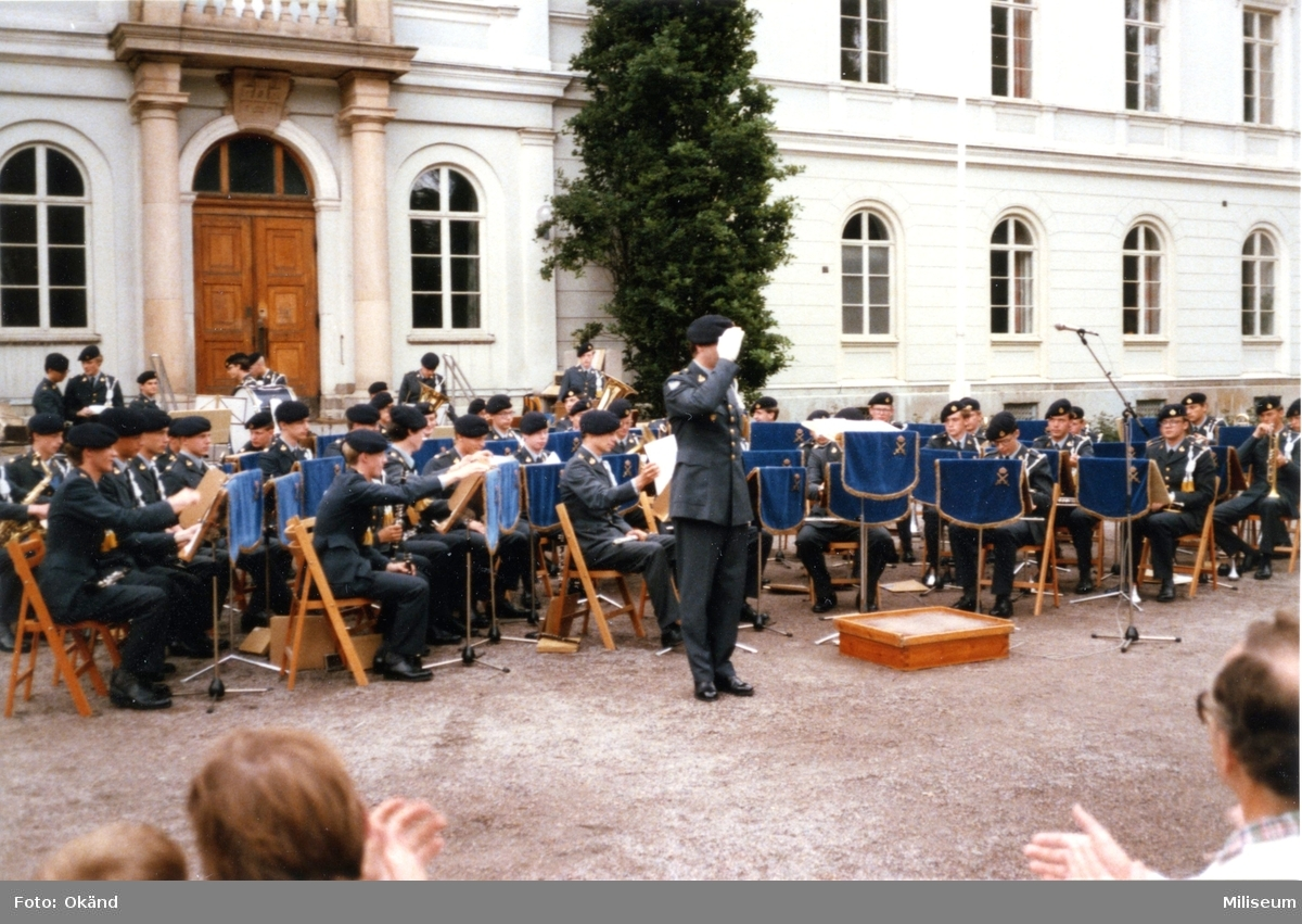 Avskedsceremoni, A 6. Avslutning. Arméns musikkår.