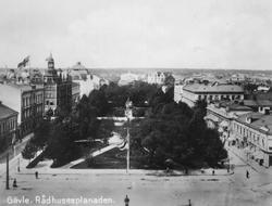 Gävle stad – Norr, Esplanaden. Rådhusesplanaden.