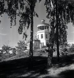 Einar Jagerwalls första bok, sid. 12: Belvederen i Trädgårds