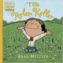Bok om Helen Keller på engelsk skriftspråk. kr 300,- (Foto/Photo)