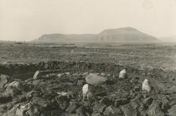 Utgraving av en steinring fra eldre jernalder på Rørvik, Vig