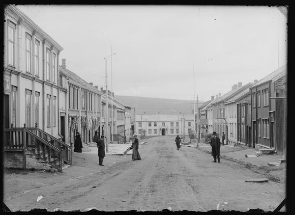 Bergmannsgata 1900-1905. Foto/Photo
