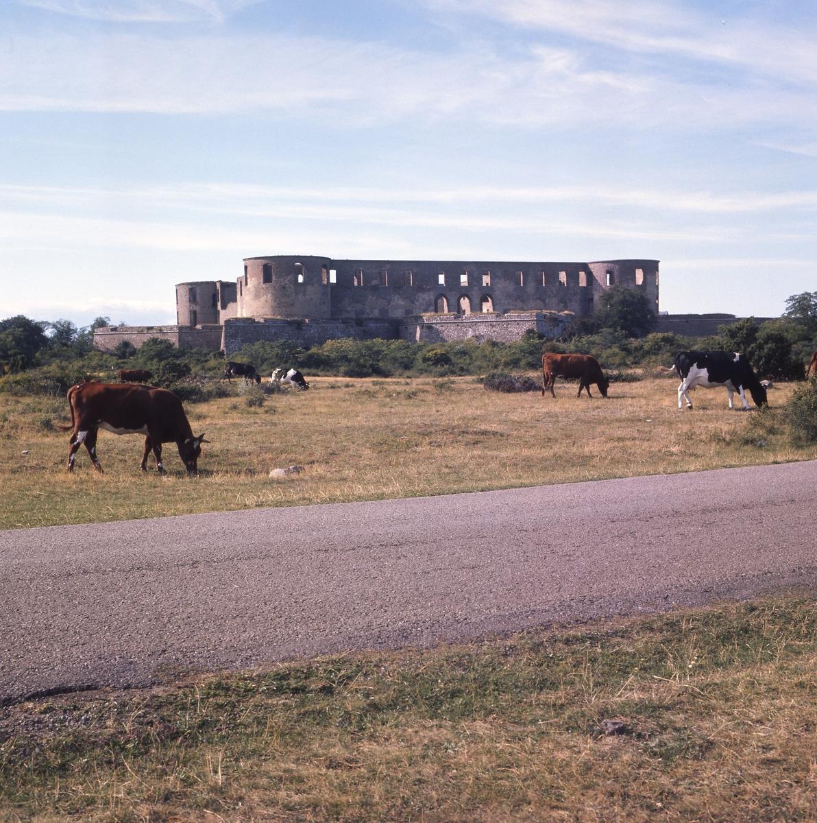 Borgholms slottsruin, Öland 1976.
