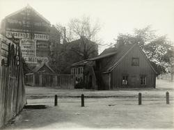 Munkedamsveien 46, revet juni 1908.