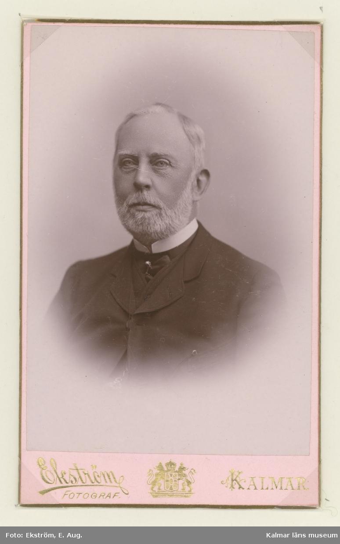 Porträtt av kapten Richard Nordenankar.