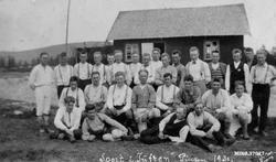 """Sport i """"Tuften"""" pinsen 1930. Terrengløp Kronheim-Røsten. Jo"""