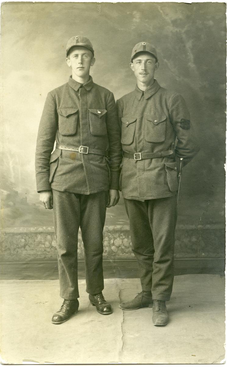 Gudbrand Strømmen og Erik Thorsrud.
