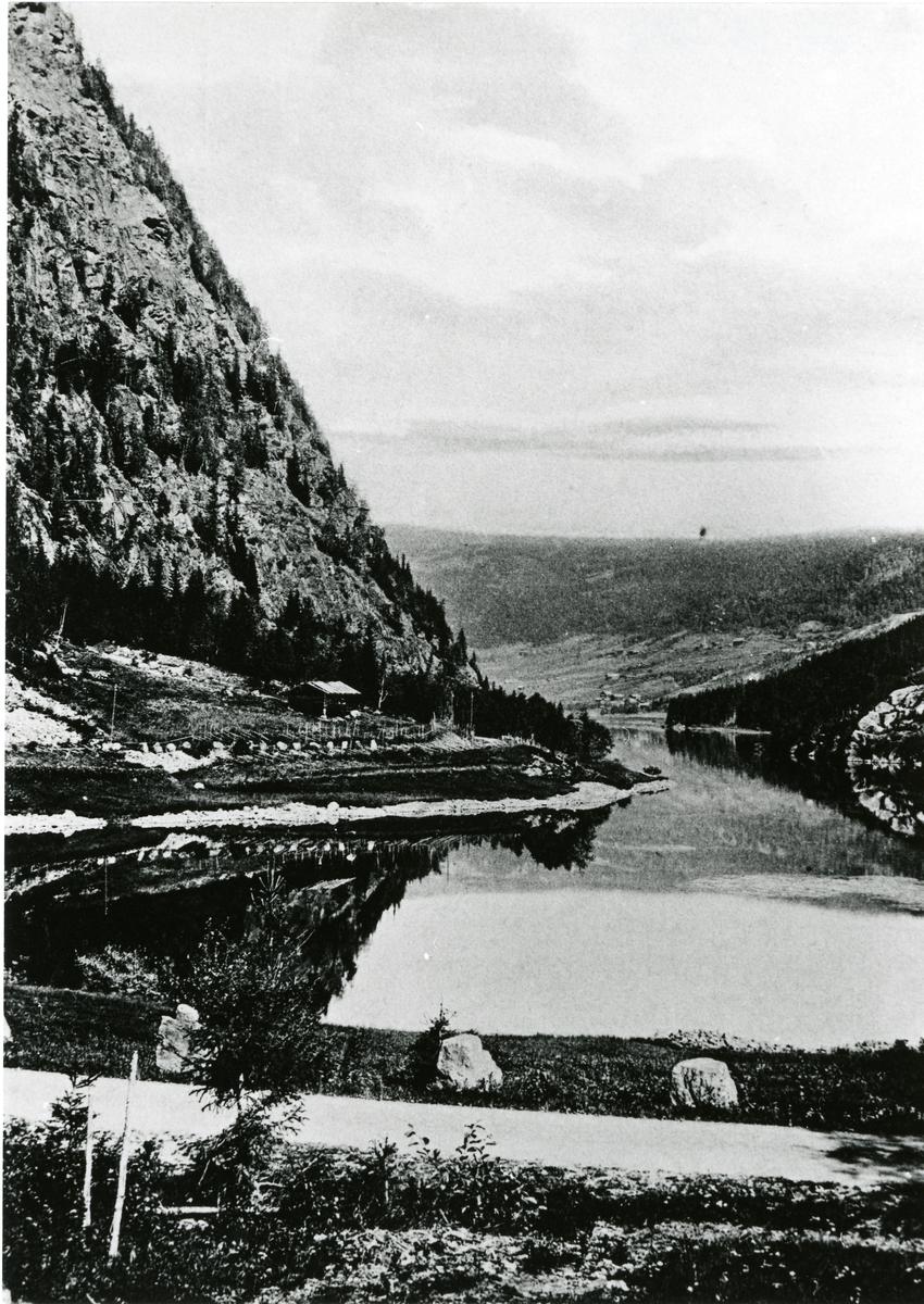 Sparkevikodden, sør for Bagn, Sør-Aurdal.