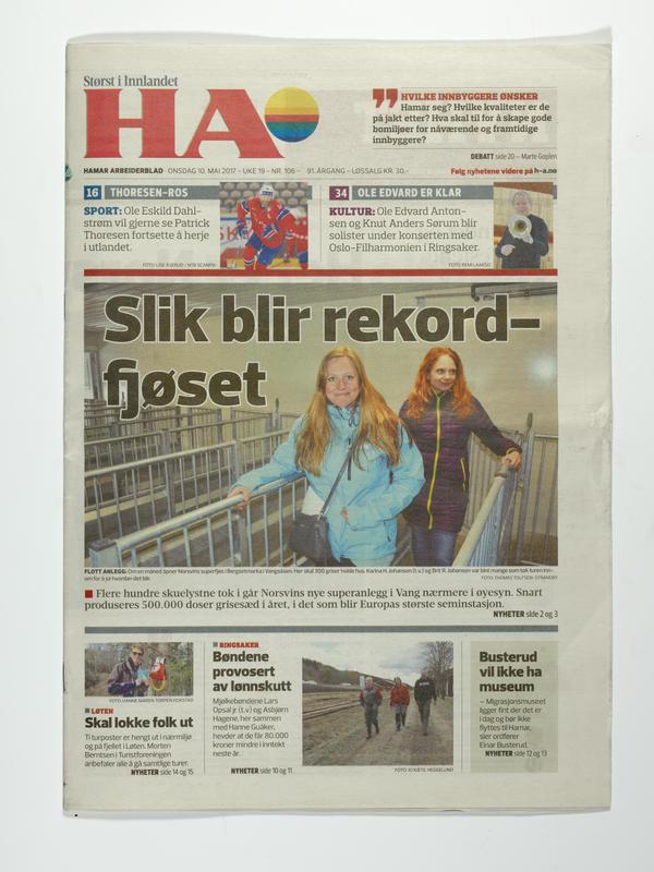 Hamar Arbeiderblad (Foto/Photo)