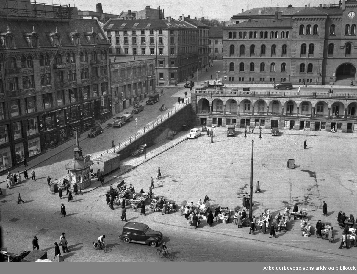 Youngstorget, 1949 - 1952.