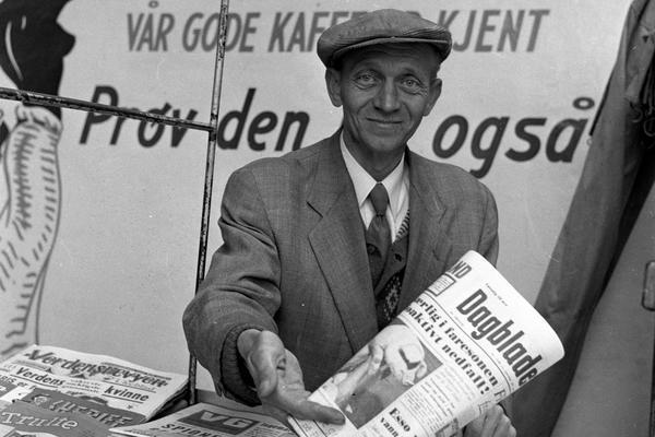 Avisselger, 1959. Foto/Photo
