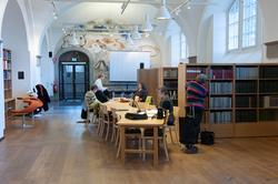 Fatburen och Biblioteket i Nordiska museet.