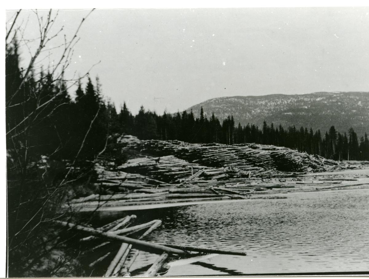 Tømmervelte på Persfløtten, Hedalen.