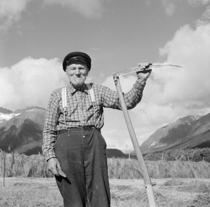 Mann med ljå 1958-59