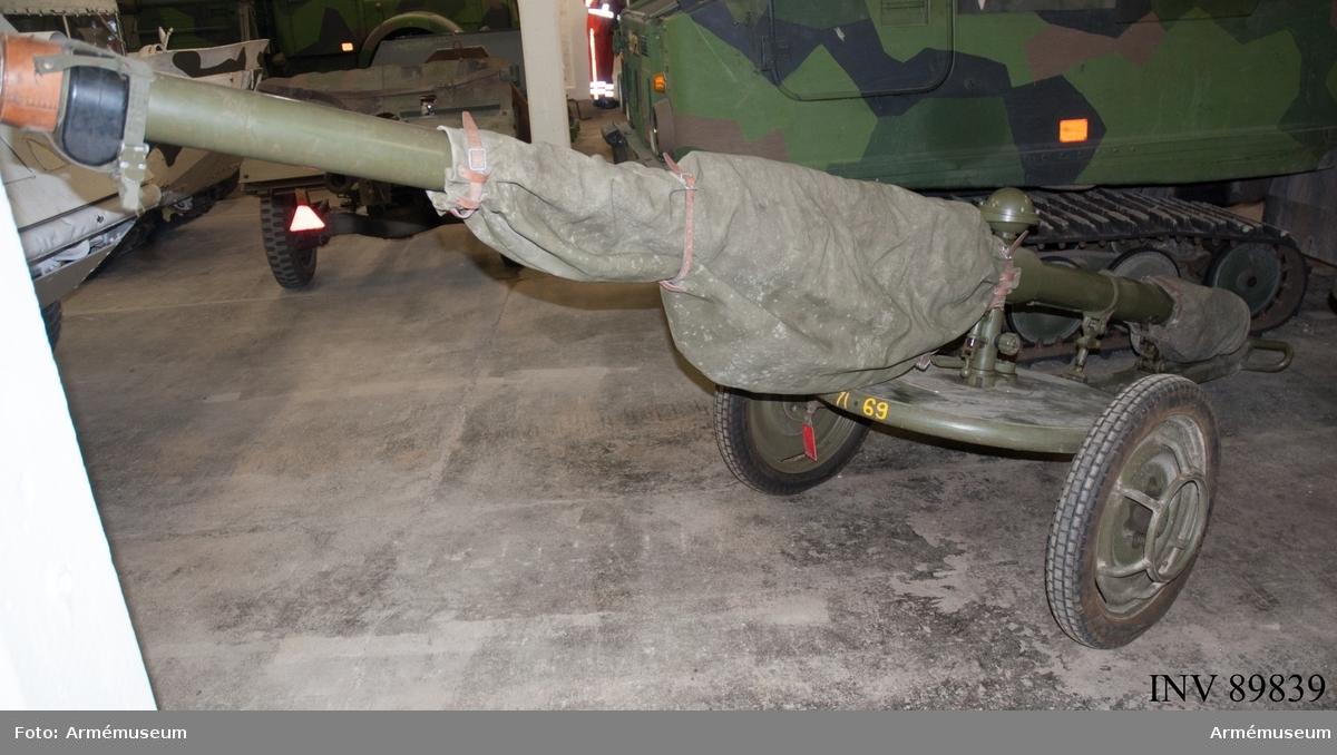 9 cm pansarvärnspjäs 1110 B