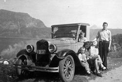 Familietur til Nupen med bil X-313.
