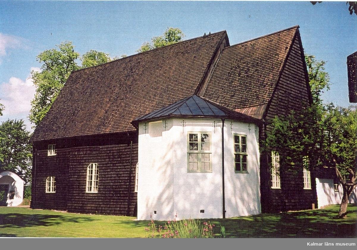 Sakristian till Pelarne kyrka.
