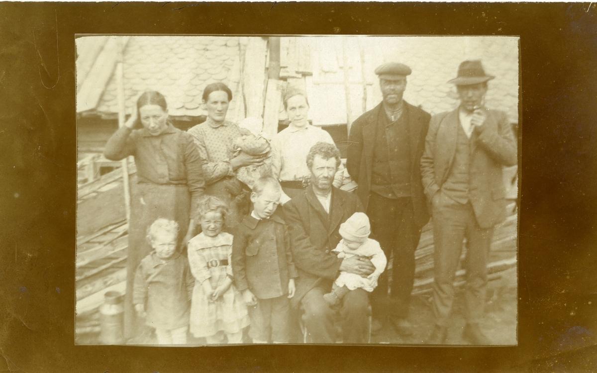 Andreas Dalen ( Dahlen ) med familie.