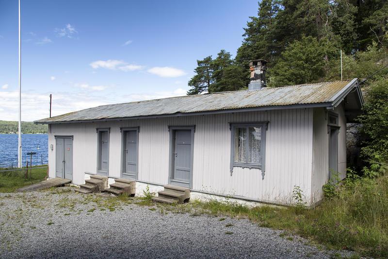 """Uthuset på """"Uranienborg""""."""