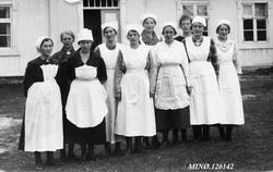Husholdningsskole Alvdal høsten 1921