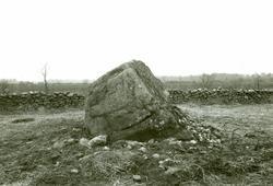 Västligaste stenen från N.