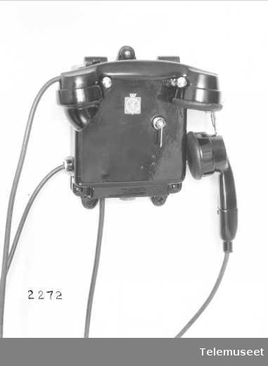 "Skipstelefon, vanntett, for ""Olav Trygvason"", Elektrisk Bureau."