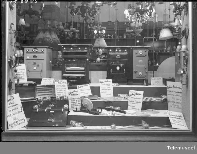 Utstilling av Rex-produkter, Elektrisk Bureau.
