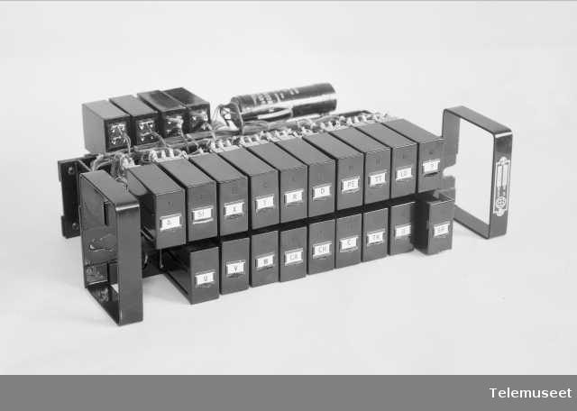 Releplater, Elektrisk Bureau.