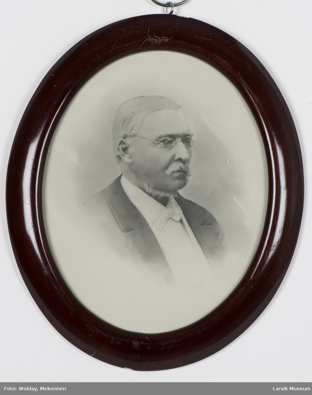 Ditlev Wibe Krogh, født 10. juli 1814 - død ? Overtoldbetjent  i Larvik 16.11.1867 . - 1880. Konstituert toldinspekt-r fra 1880 - ?