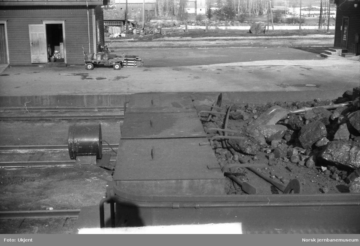 Damplokomotiv type 39a nr. 168 - kullkasse